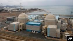 南韓蔚山一座核電廠 (資料圖片)