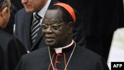 Le cardinal Laurent Monsengwo Pasinya, au Vatican, le 20 novembre 2010.