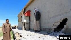 15 Nisan 2021 - Irak'ta Başika bölgesinde Türk askerlerinin de bulunduğu bölgeye düzenlenen roket saldırısının hedefi olan ev