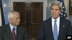 美國國務卿克里會見菲律賓外長羅薩里奧
