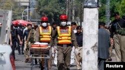 ການໂຈມຕີ ສະລະຊີບ ຕໍ່ຂະບວນລົດ ທີ່ເມືອງ Peshawar