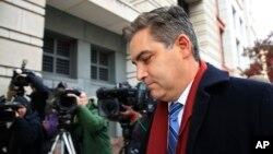 Jim Acosta arrive au tribunal, Washington, le 14 novembre 2018
