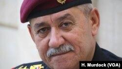 ژنرال عبدالغنی الاسدی فرمانده واحد ویژه ضدتروریسم ارتش عراق در موصل - آرشیو