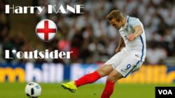 Harry Kane, 22 ans, joueur de Tottenham, est le meilleur buteur de la dernière édition de la Premier League (25 réalisations). Tout comme Jamie Vardy, il incarne l'avenir de la sélection anglaise. L'ancien attaquant Teddy Sherringham le voit même empiler. Source: VOA