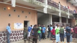Bureau de vote a Kinshasa