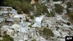 海地太子港1月12日地震灾情