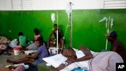 Abanduye Cholera muri Hayiti.