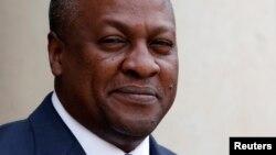 Shugaban Ghana John Dramani Mahama. (File Photo)