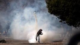 Thanh niên giận dữ tiếp tục các cuộc biểu tình tại Quảng trường Tahrir, ngày 27/1/2013.