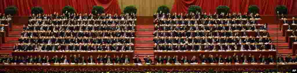 18-kongress, Pekin, 14-noyabr, 2012