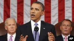 اوباما: د چین او اروپا پرځای دي په آمریکا کې وظیفې وي