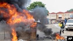 Ghasia wakati wa maandamano Burundi.