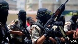 资料照 伊斯兰圣战组织成员