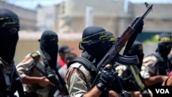 Militantes da Jihad (imagem de arquivo)