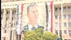 2011-10-12 粵語新聞: 數千人集會支持敘利亞總統阿薩德