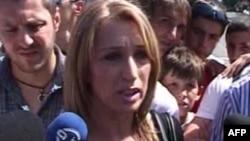 Protestë popullore para institucioneve kryesore shtetërore në Shkup