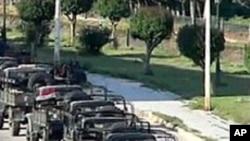 شام: حکومت مخالف مظاہرے روکنے کے لیے ٹینک تعینات