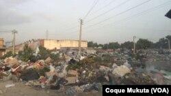 Sétima Avenida do Cazenga em Luanda (Foto de Arquivo)