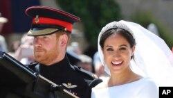 哈里王子和梅根馬克爾星期六大婚