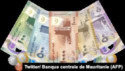 La Banque centrale de Mauritanie présente le nouveau ougiya, nouvelle monnaie du pays, 21 décembre 2017. (Twitter/ Banque centrale de Mauritanie)