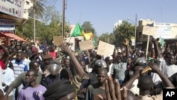 Malians demonstrate in Bamako on December 8, 2012, to demand a UN Security Council resolution (AFP/File, Habibou Kouyate)