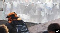 시위를 벌이는 카이로 시민들