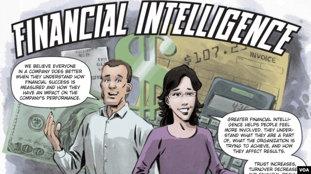 """A picture from the """"Financial Intelligence"""" comic book"""