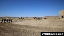 Azərbaycan Ordusunun bölüyünün NATO qiymətləndirilməsi təlimi keçirilib