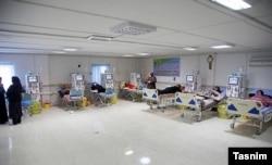 تصویری از یک بیمارستان در ایران