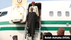 Shugaban Najeriya Muhammad Buhari ya isa New York