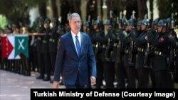 Ege Ordu Komutanlığı'nı TeftişEden Milli Savunma Bakanı Hulusi Akar