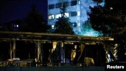 Požar u kovid bolnici u Tetovu