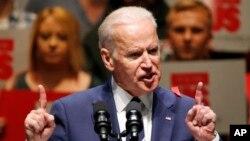"""جو بایدن در ضیافت سالانه جی استریت گفت """"سازمان شما نقش بزرگی در تقویت حمایت (از توافق) در داخل و تصویب آن در کنگره بازی کرد."""