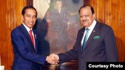 پاکستان اور انڈونیشیا کے صدور