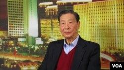 中国经济学家茅于轼(2009年 资料照片)