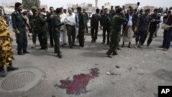 Policija prikuplja dokaze na mestu napada u jemenskoj prestonici Sani
