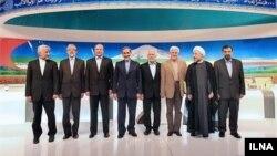 هشت نامزد در دومین مناظره انتخابات ایران
