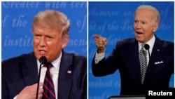 Perezida Donald Trump uhagarariye Abarepubulikani na Joe Biden uhagarariye Abademocrate