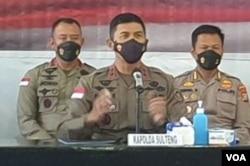 Penanggung jawab Komando Operasi (PJKO) Satgas Madago Raya, Irjen Pol Rudi Sufahriadi (VOA/Yoanes Litha).
