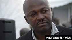 Hubert Bakaï, chef de cabinet au haut conseil pour la mer du Togo lors du sommet sur la sécurité à Lomé, au Togo, le 11 octobre 2016. (VOA/Kayi Lawson)