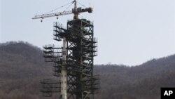 Северокорейская ракета «Унха-3». Архивное фото.