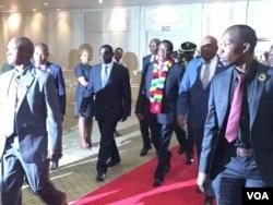 UMnu. Emmerson Mnangagwa uthi ilizwe lakhe lizimisele ukuthuthukisa umnotho weZimbabwe.