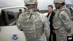 Janet Napolitano asegura que exigir seguridad fronteriza es un argumento fallido de los republicanos para detener un avance en la reforma migratoria.