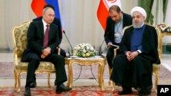 Президенты России и Ирана