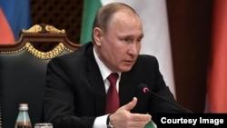 Vladimir Putin falou a jornalistas em Bisqueque