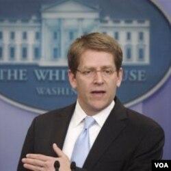 Jurubicara Gedung Putih, Jay Carney