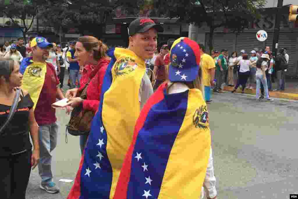 Se espera que venezolanos en diferentes partes del mundo también se unan a las protestas.