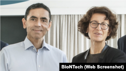 Profesör Uğur Şahin ve Doktor Özlem Türeci