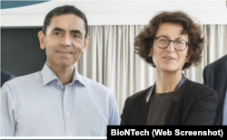 Prof. Dr. Uğur Şahin ve Dr. Özlem Türeci