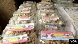 هفت کیلو قروت اعلی اکنون در بازار بامیان مبلغ ۱۷۰۰ افغانی به فروش می رسد.